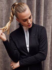 CAV. TOSCANA LONGSLEEVE WITH KNIT BACK (POD168)