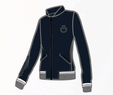 CT TENNIS STRIPE Bomber - blau