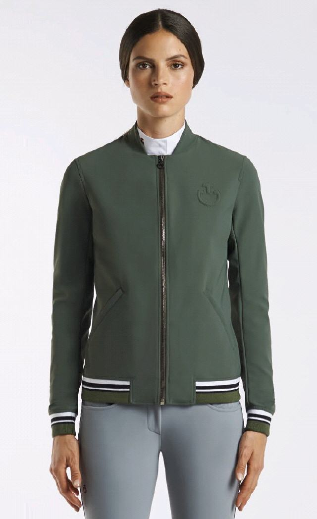 CT TENNIS STRIPE BOMBER